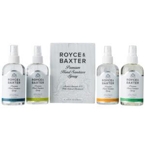 Royce & Baxter 8oz 4 Pack Trial Pack